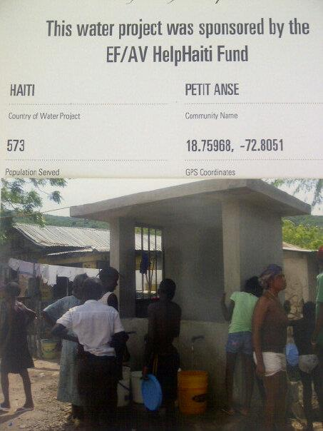 HelpHaiti Charity Water