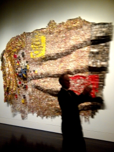 blanton El Anatsui City Plot Eliza and Stewart Stedman Collection