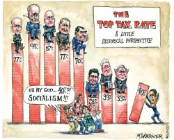 state of union top tax rates
