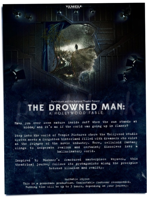 punchdrunk the drowned man