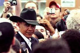 obama tx hat